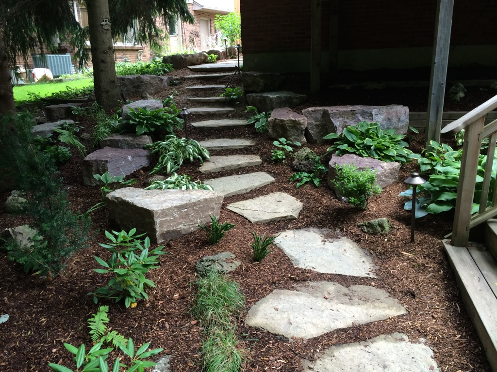 Stepping Stone Walkway