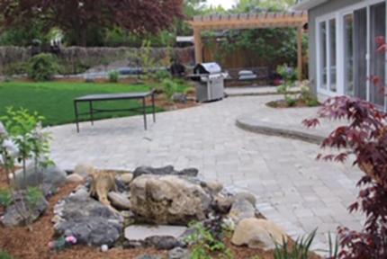 Rustic Natural Stone Walkway